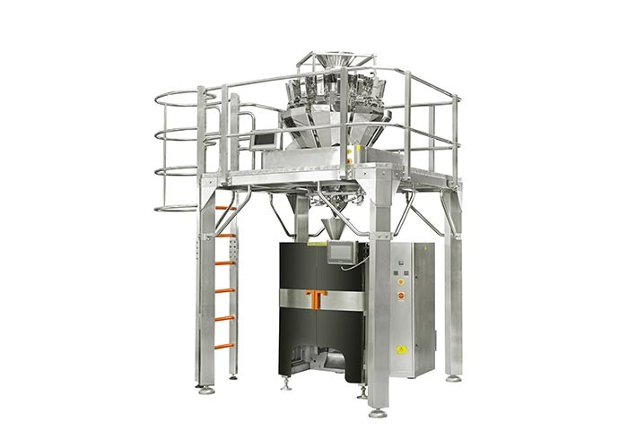 Dried Fruit VFFS Auto Weighing Filling And Sealing Machine