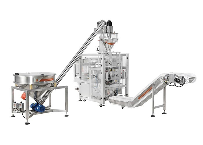 PLC Automatic 50L Screw Powder Multihead Weigher